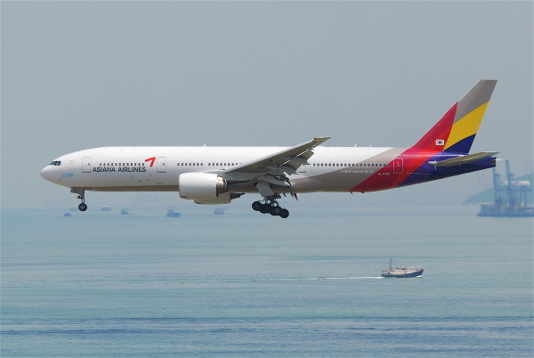 Asiana Airlines Boeing